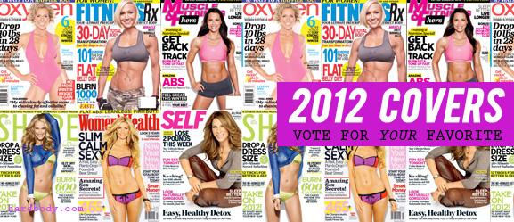 2012 fitness magazines