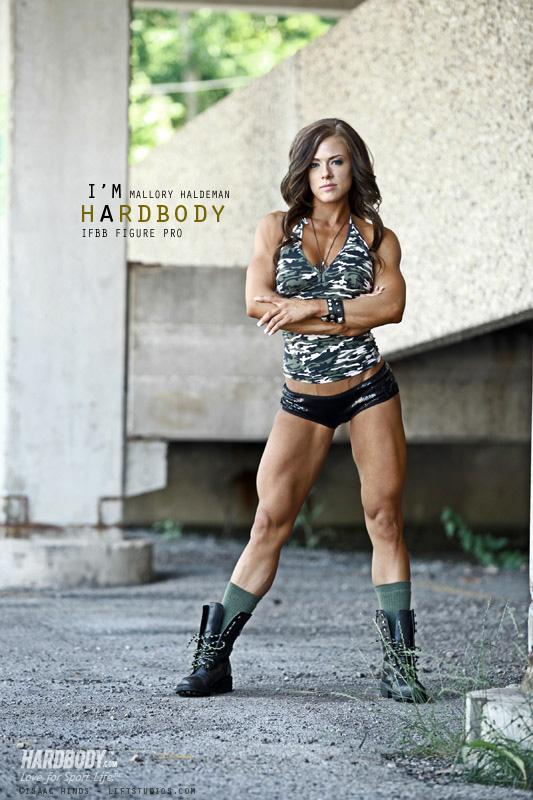 Mallory Haldeman Leg Training