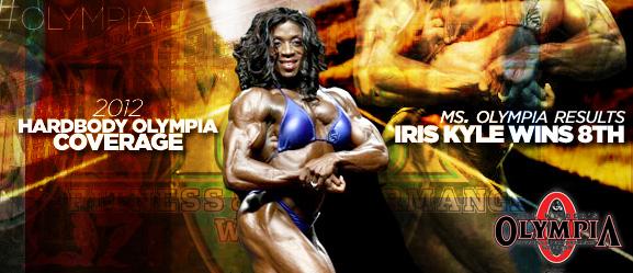 iris kyle wins 8th title