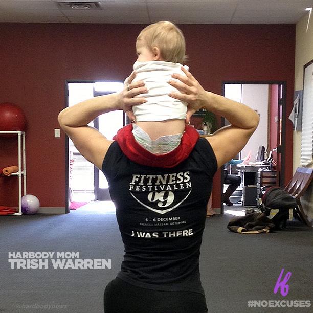 Pin Beautiful Trish Warren Female Bodybuilder Images And ...