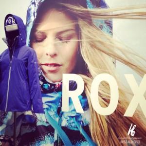 Roxy always looks cool.