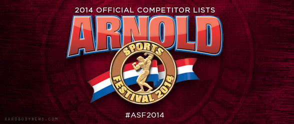 arnold competitors