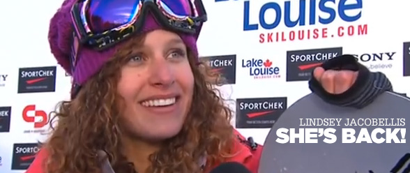 Lindsey Jacobellis Wins
