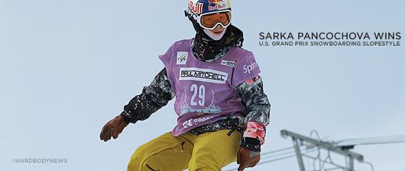 sarka snowboarding