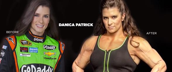 Danica Patrick Buff