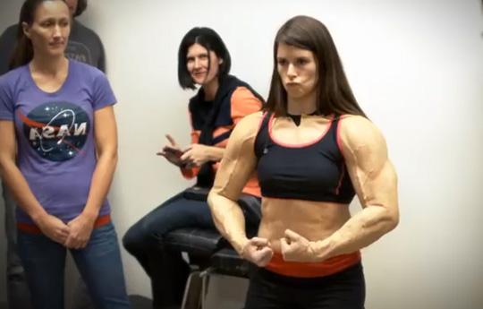 Danica most muscular