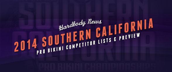 2014 IFBB Southern California Pro Bikini