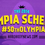 2014 olympia schedule