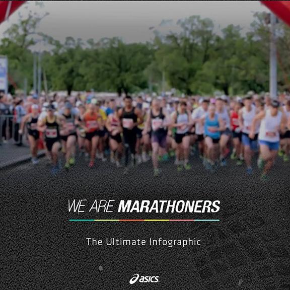 marathoners infographic