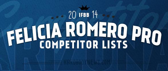 2014 IFBB Felicia Romero Pro