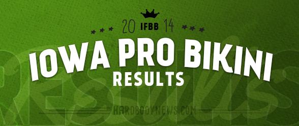 iowa pro bikini results