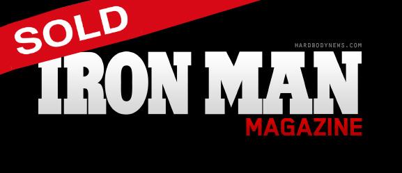 iron man magazine sold
