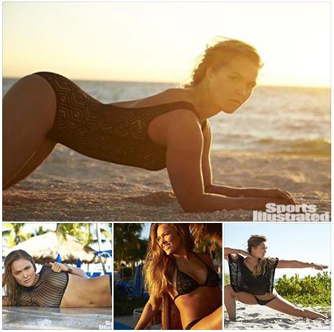 Rousey SI Swim