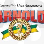 2105 Arnold Australia Competitors