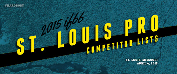2015 IFBB St. Louis Pro Competitors