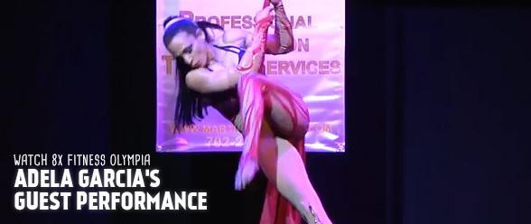 Adela Garcia guest performance