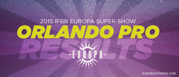 2015 europa pro show Orlando: firas saied, pro ifbb