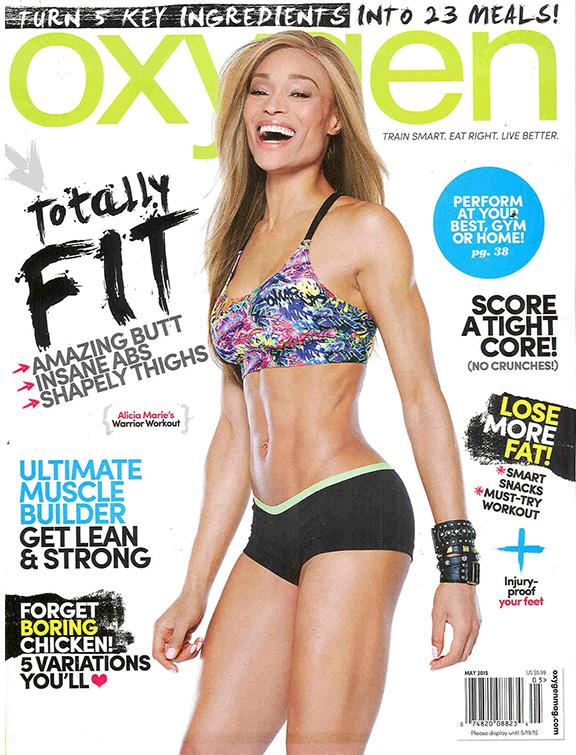 Alicia Marie Oxygen Cover