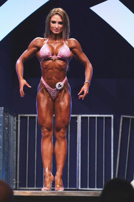 Adela Ondrejovicova 2015 Figure Body Power Pro
