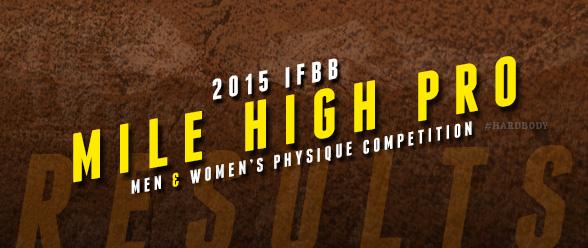 2015 IFBB Mile High Pro