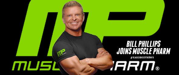 Bill Phillips Joins Muscle Pharm