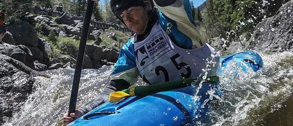 Kayaking Go Pro Mtn Games