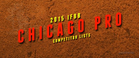 IFBB Chicago Pro Competitors
