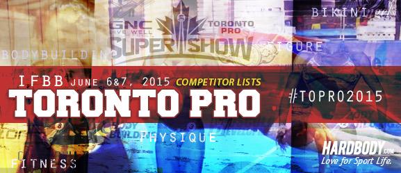 2015 Toronto Pro Show