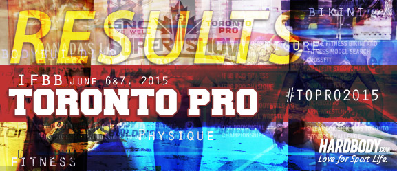 2015 IFBB Toronto Pro show