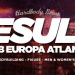 2015 IFBB Europa Atlantic City Pro Results