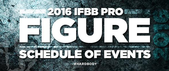 2016 IFBB Figure Calendar